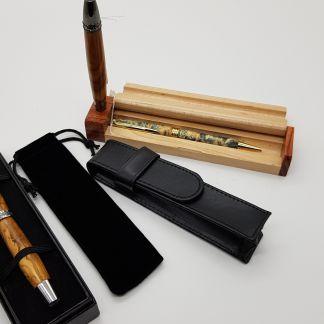 Aufbewahrung für Stifte, Hüllen, Etuis und Schatullen