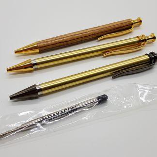 Stiftebausätze, Halbzeug und Spannvorrichtung